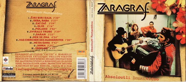 ZAragraf Absolutly Romanticno CD