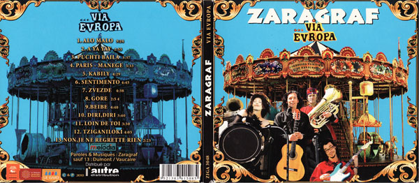 Zaragraf Via Europa CD